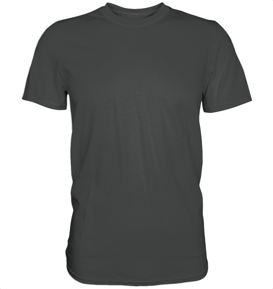 owl4one-product-TShirt Organic Men, 235|341|Anthracite, front