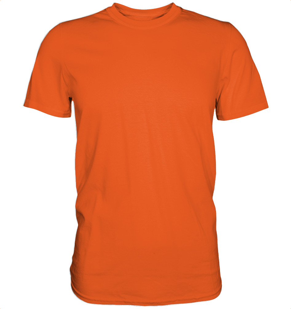 owl4one-product-TShirt Organic Men, 235|707|Bright_Orange, front