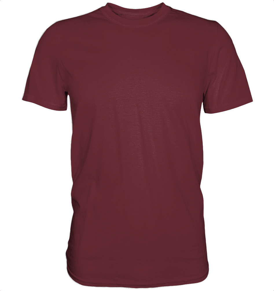 owl4one-product-TShirt Organic Men, 235|323|Burgundy, front
