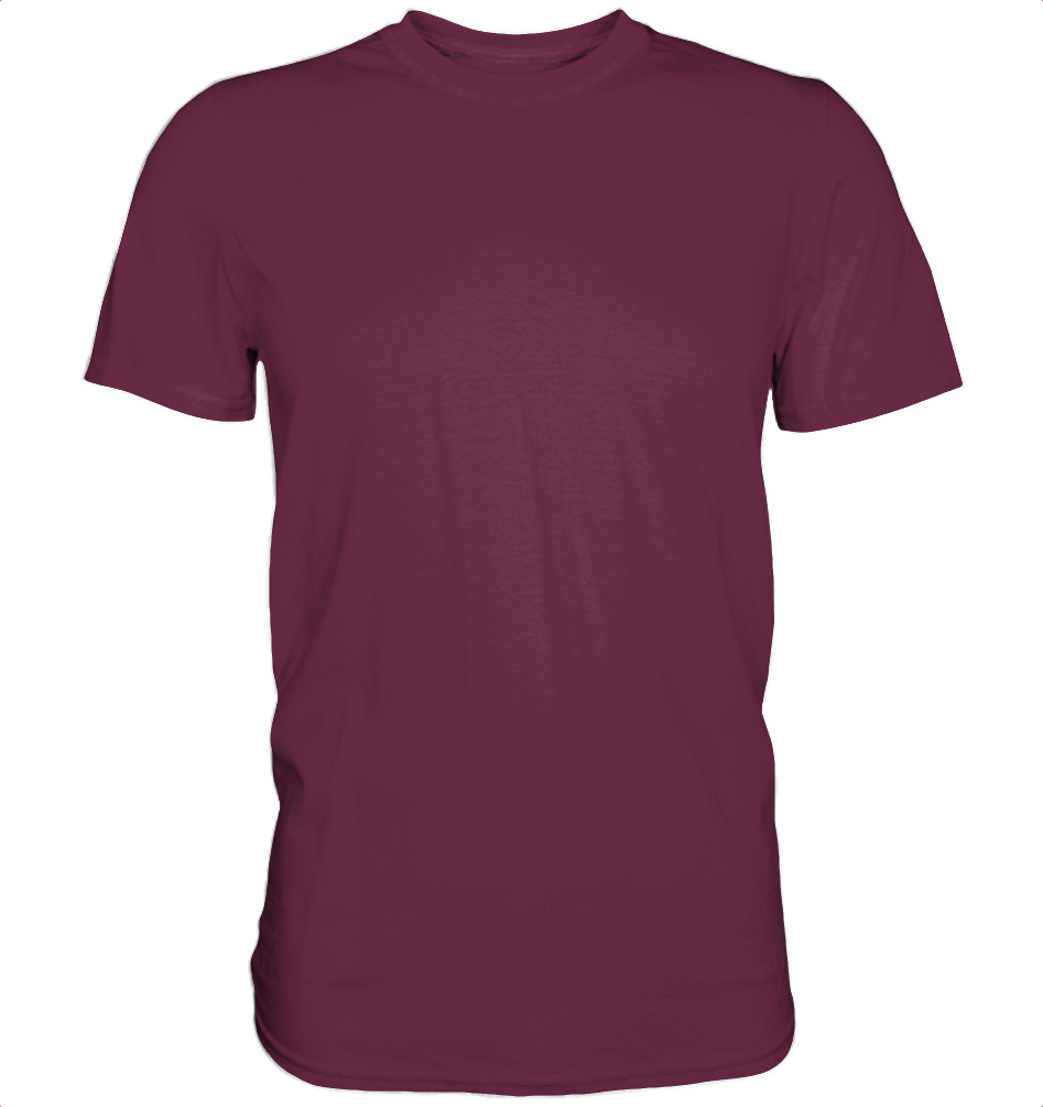 owl4one-product-TShirt Premium, 380|205|Burgundy, front
