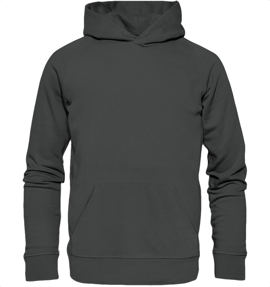 owl4one-product-Hoodie Organic, 393|341|Anthracite, front