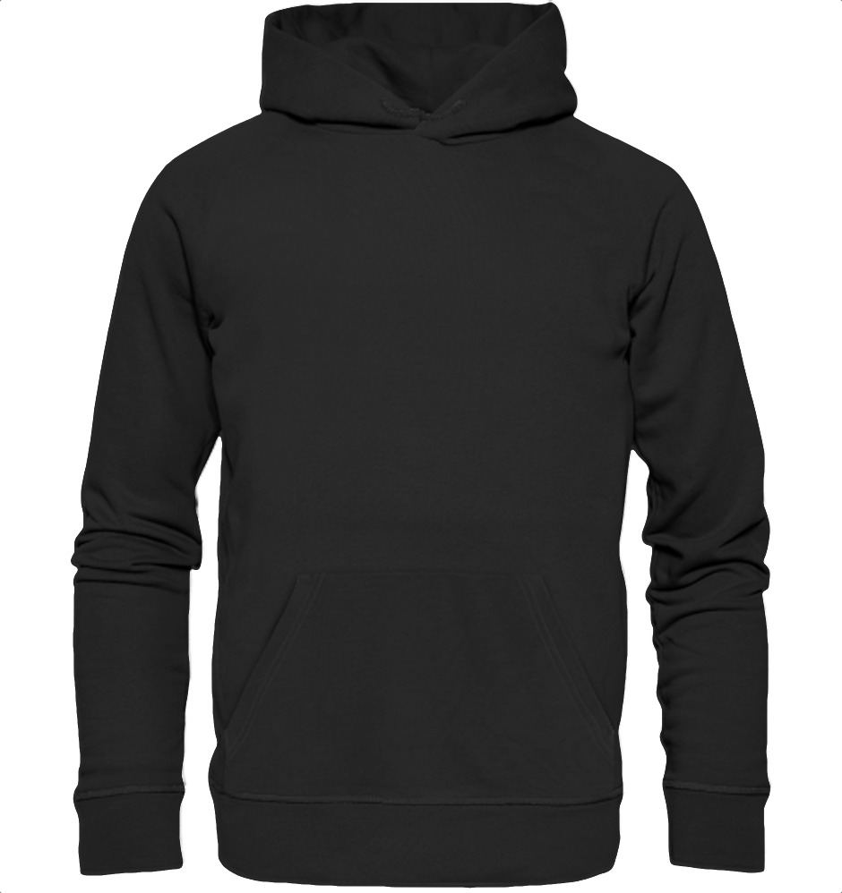 owl4one-product-Hoodie Organic, 393|326|Black, front